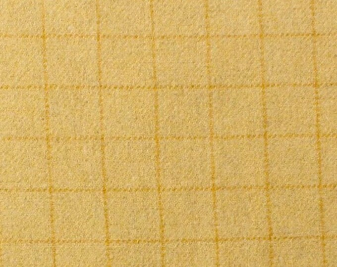 Irish Butter, Felted Wool Fabric for Rug Hooking, Wool Appliqué and Crafts