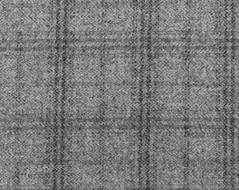Gettysburg Gray, Felted Wool Fabric for Rug Hooking, Wool Applique and Crafts