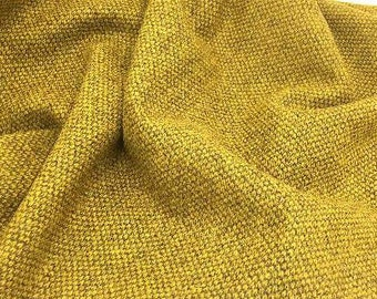 Chicken in the Kitchen Gold, 100% Felted Wool Fabric for Rug Hooking, Wool Applique and Crafts