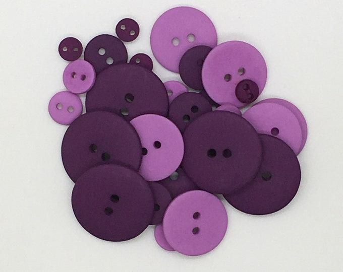 Professor Plum Smoothie Pack, Buttons From Just Another Button Company