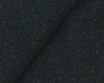 Very Dark Blue Heather, Felted Wool for Rug Hooking, Wool Appliqué and Crafts