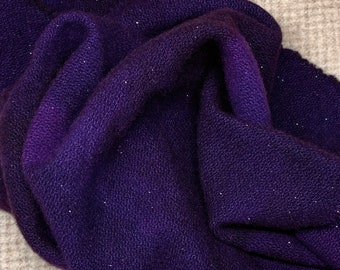 Deep Purple Sparkle, Hand Dyed Fat Quarter