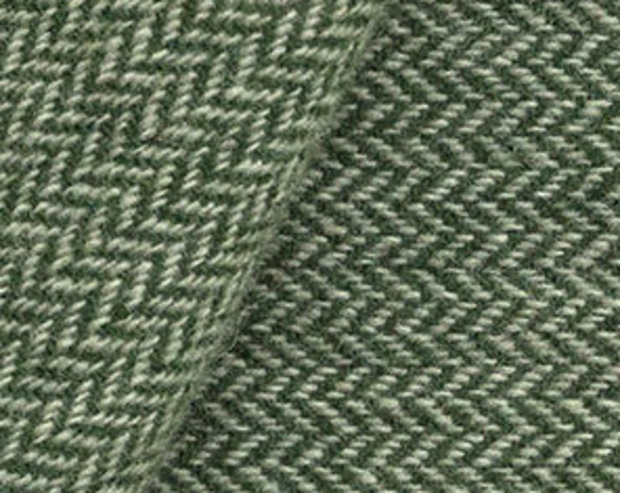 Forest Green and Natural, Felted Wool Fabric for Rug Hooking, Wool Applique and Crafts