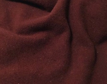 Red Horse, Felted Wool Fabric for Rug Hooking, Wool Applique and Crafts