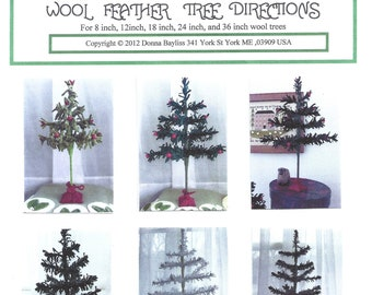 "Wool Feather Tree Kit for 18"" Tree"
