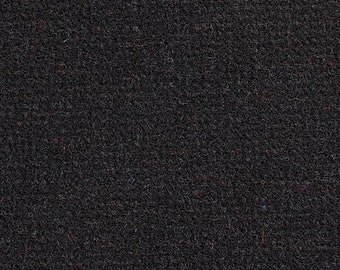 Inky Tweed, Felted Wool Fabric for Rug Hooking, Wool Appliqué and Crafts