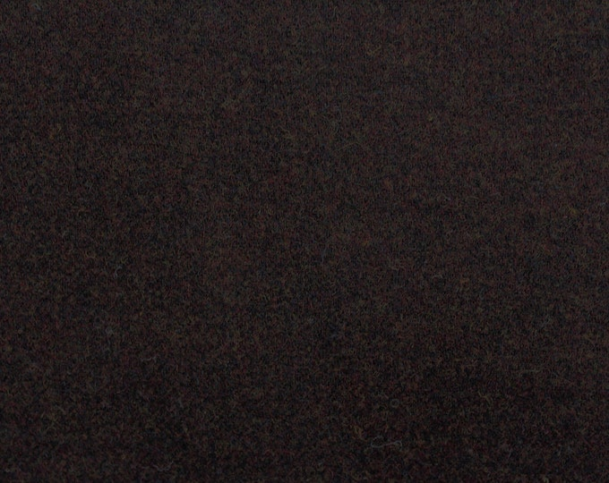 Oh My Gosh Brown, Felted Wool for Rug Hooking, Wool Applique and Crafts