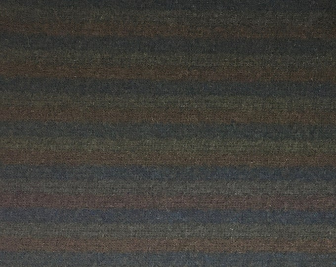 Jinx Stripe, Felted Wool Fabric for Rug Hooking, Wool Applique and Crafts