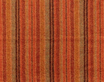 Joseph's Coat Stripe, 100% Felted Wool Fabric for Rug Hooking, Wool Applique and Crafts