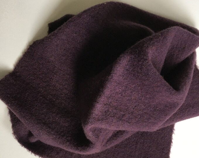 Purple, Hand Dyed Wool for Rug Hooking and Wool Applique