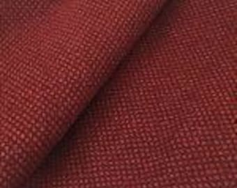 Red Red Wine, Felted Wool Fabric for Rug Hooking, Wool Applique and Crafts