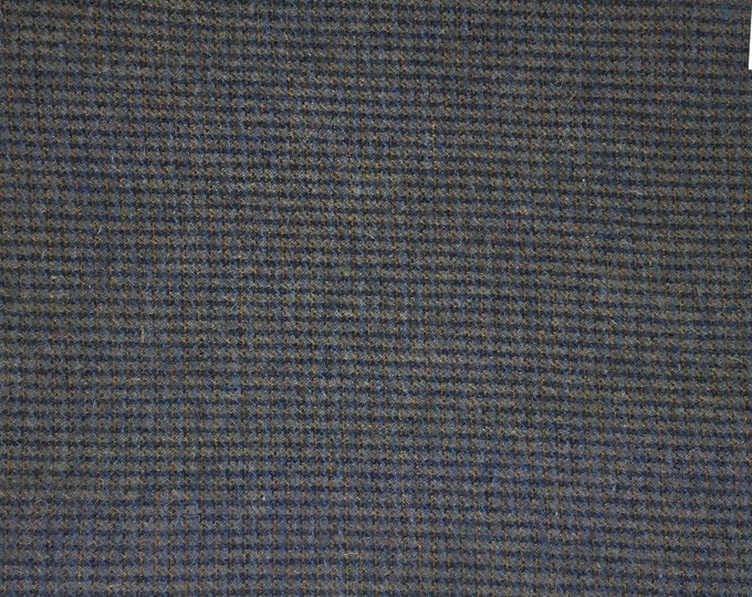 Moody Blue, Felted Wool Fabric for Rug Hooking, Wool Applique and Crafts