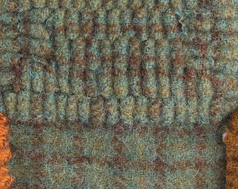North Woods, Felted Wool Fabric for Rug Hooking, Wool Applique and Crafts