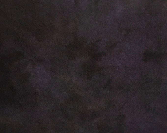 Dark Purple Spot Dye, Felted Wool for Rug Hooking, Wool Applique and Crafts