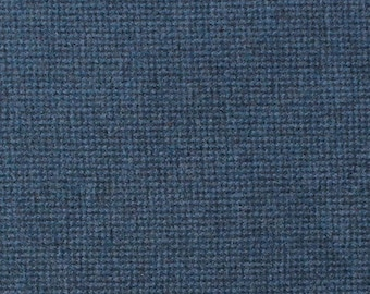 Penn's Blue, Felted Wool Fabric for Rug Hooking, Wool Appliqué and Crafts