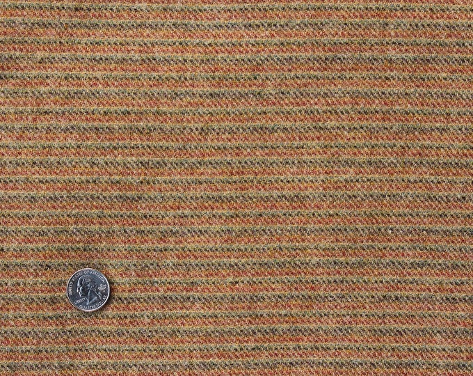 Texas Stripe, Felted Wool Fabric for Rug Hooking, Wool Applique and Crafts