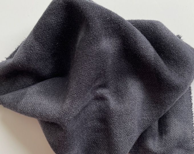 Charcoal Gray Value #7, Hand Dyed, Felted Wool Fabric for Rug Hooking, Wool Applique and Crafts