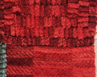 Redrock Canyon, Felted Wool Fabric for Rug Hooking, Wool Appliqué and Crafts