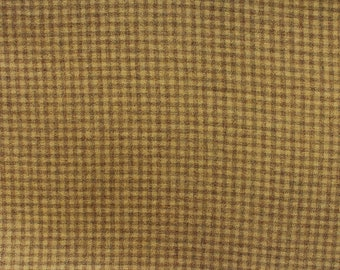 Buttered Rum, Felted Wool Fabric for Rug Hooking, Wool Applique and Crafts