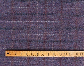 Violet Persuasion, 100% Felted Wool Fabric for Rug Hooking, Wool Applique & Crafts