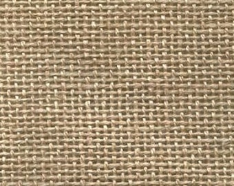 "Half Yard (1/2) of Natural Primitive Linen, 32""x 36"""