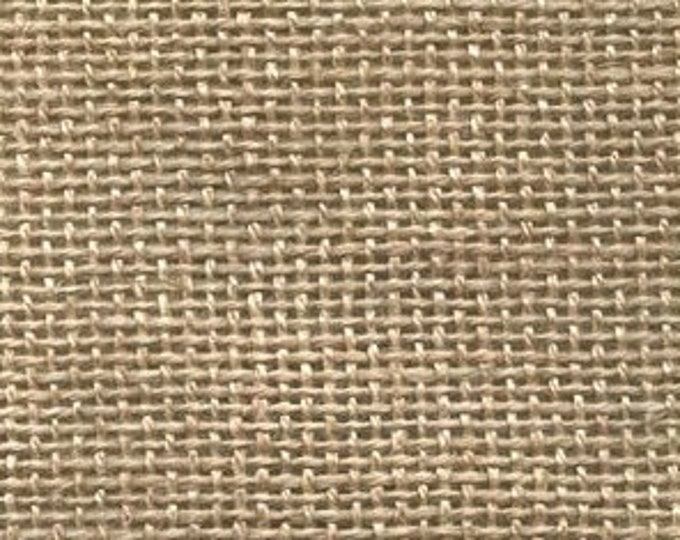 "One Half Yard (1/2) of Natural Primitive Linen, 32""x 36"""