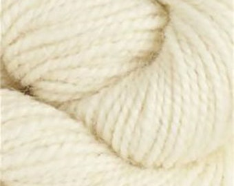 Rauma Ryegarn, Norwegian Wool Rug Yarn, #500 White