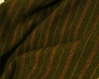 Montgomery Stripe, Felted Wool Fabric for Rug Hooking, Wool Applique and Crafts