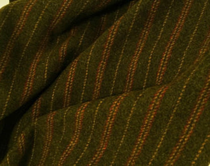 Montgomery Stripe, 100% Felted Wool Fabric for Rug Hooking, Wool Applique and Crafts