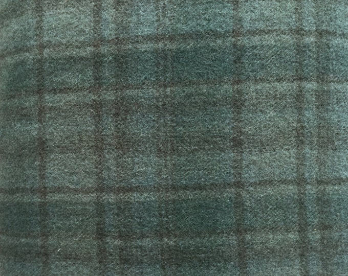 Glacier Blue, 100% Felted Wool Fabric for Rug Hooking, Wool Applique & Crafts
