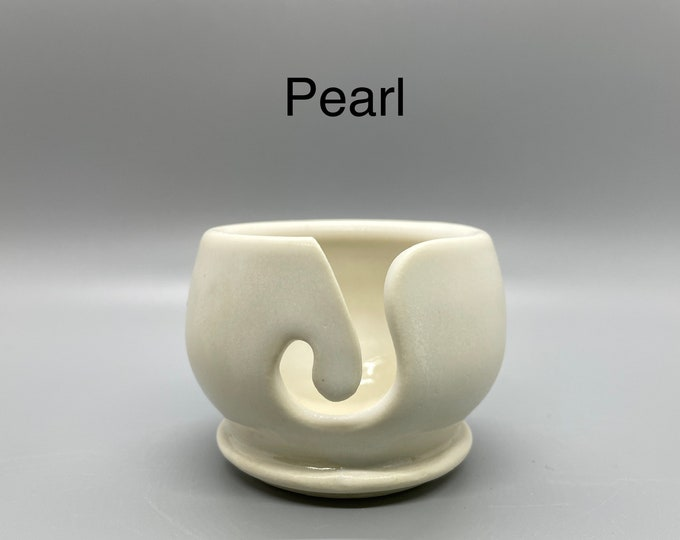 Pearl, Pottery Thread Bowl