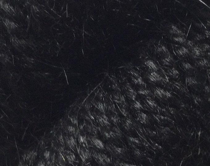 Rauma Ryegarn, Norwegian Wool Rug Yarn, #536 Black