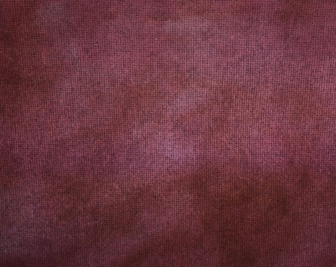 Vintage Rose, Hand Dyed, Felted Wool Fabric for Rug Hooking, Wool Applique and Crafts