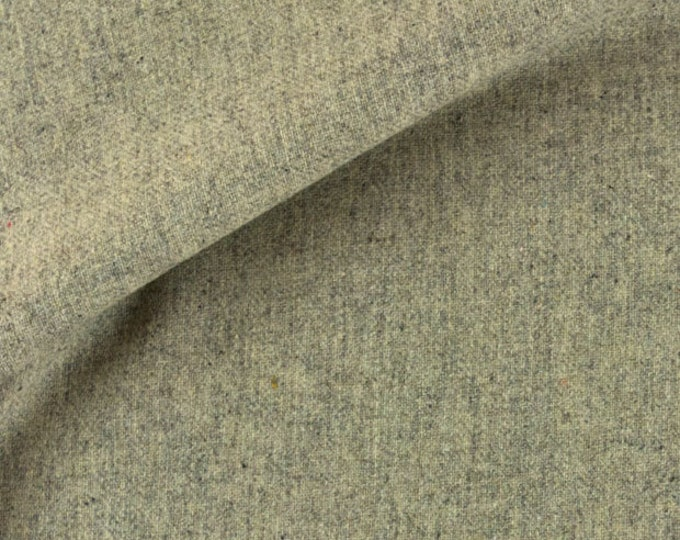 Grey Heather, Felted Wool Fabric for Rug Hooking, Wool Appliqué and Crafts