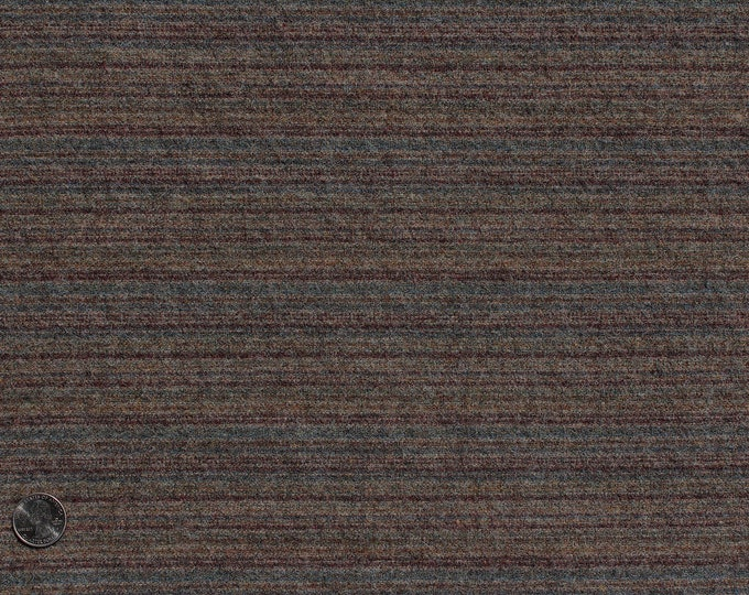 Sutler Stripe, Felted Wool Fabric for Rug Hooking, Wool Applique and Crafts