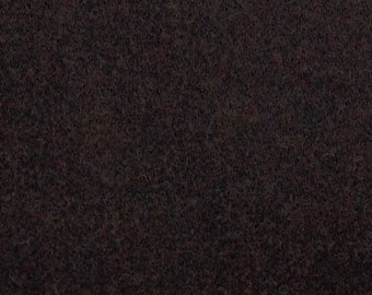 Wonderful Good Brown, Felted Wool Fabric for Rug Hooking, Wool Appliqué and Crafts