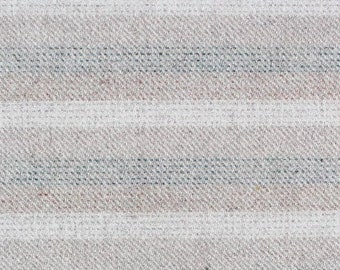Beige Betty Stripe, Felted Wool for Rug Hooking, Wool Applique and Crafts