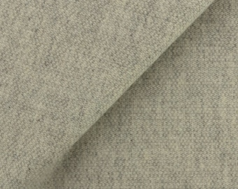 Grey and Natural Barley Corn Weave, Felted Wool Fabric for Rug Hooking, Wool Applique and Crafts