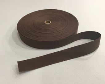 Dark Brown Rug Binding Tape, 5 Yard Increments