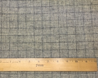 Silver Fox, Felted Wool Fabric for Rug Hooking, Wool Applique and Crafts