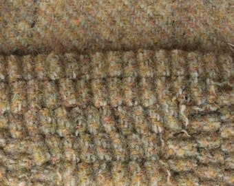 Old Fashioned Oatmeal, Felted Wool Fabric for Rug Hooking, Wool Applique and Crafts