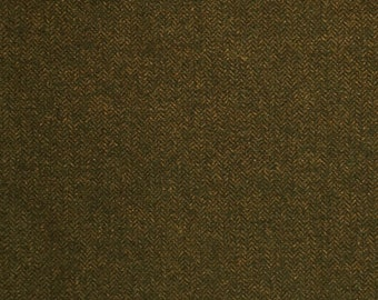 Caper Green, Felted Wool Fabric for Rug Hooking, Wool Appliqué and Crafts