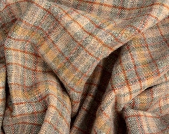 Hearthstone Plaid, Felted Wool Fabric for Rug Hooking, Wool Applique and Crafts
