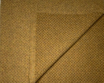 14K Gold, Reversible Felted Wool Fabric for Rug Hooking, Wool Applique and Crafts