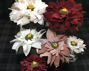 Poinsettia Proddy Pattern, Paper Version