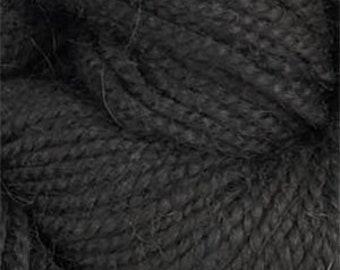 Rauma Ryegarn Norwegian Wool Rug Yarn, #575 Antique Black