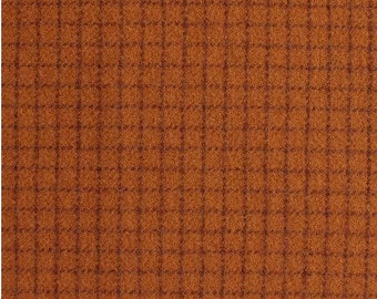Carrot Top, Felted Wool Fabric for Rug Hooking, Wool Applique and Crafts