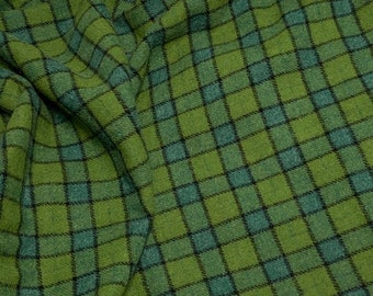 Green with Envy, Felted Wool Fabric for Rug Hooking, Wool Applique and Crafts
