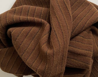Chestnut Hill Stripe, Felted Wool Fabric for Rug Hooking, Wool Applique and Crafts