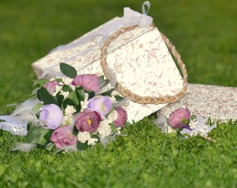 bridal bouquet set, wedding bouquet, wedding flowers, purple bouquet, bridal flowers, rustic flowers, costem bouquet, handmade bouquet,